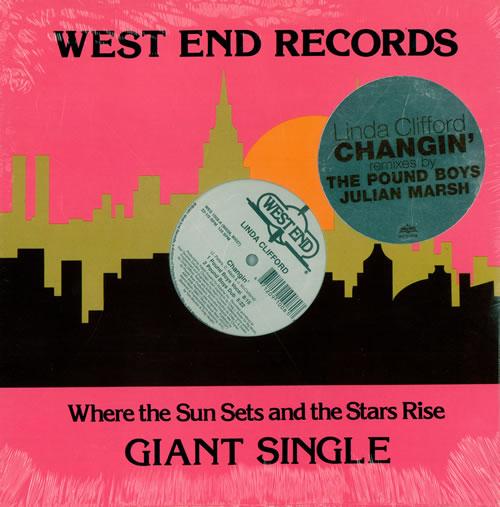 "Linda Clifford Changin' - Pound Boys & Julian Marsh Mixes 12"" vinyl single (12 inch record / Maxi-single) US LCL12CH489672"