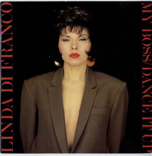 """Linda Di Franco My Boss 7"""" vinyl single (7 inch record) UK L7Z07MY615004"""