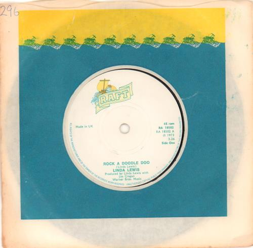 "Linda Lewis Rock A Doodle Doo - Solid 7"" vinyl single (7 inch record) UK LLW07RO672382"