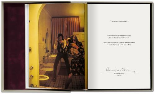 Linda McCartney Linda McCartney: Life in Photographs - Artist's Proof #91 book UK LMCBKLI707604