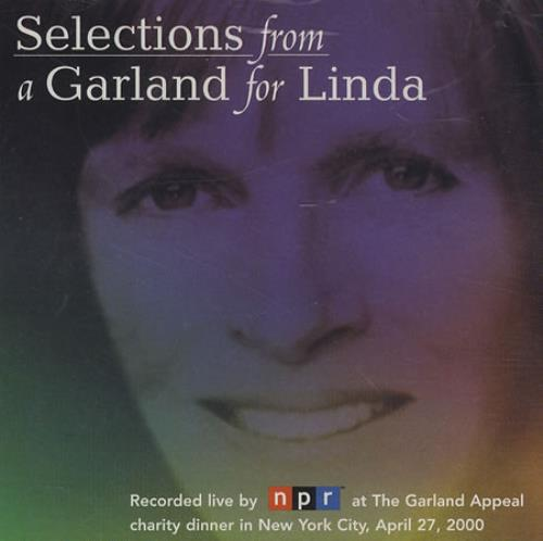 "Linda McCartney Selections From A Garland For Linda CD single (CD5 / 5"") US LMCC5SE398473"