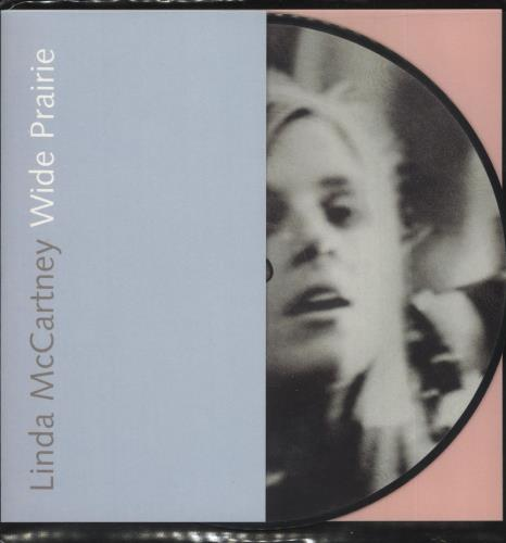 "Linda McCartney Wide Prairie 7"" vinyl picture disc 7 inch picture disc single UK LMC7PWI125419"