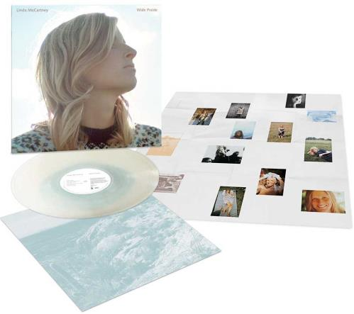 Linda McCartney Wild Prairie - 180gm Milk/Blue Vinyl - Sealed vinyl LP album (LP record) UK LMCLPWI727925