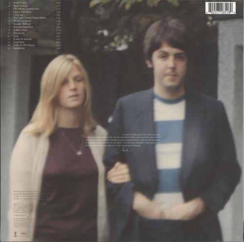 Linda McCartney Wild Prairie - 180gm Vinyl - Sealed vinyl LP album (LP record) UK LMCLPWI727296