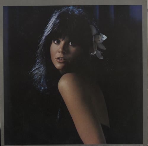 "Linda Ronstadt Blue Bayou - Blue Vinyl 12"" vinyl single (12 inch record / Maxi-single) UK LIR12BL57989"