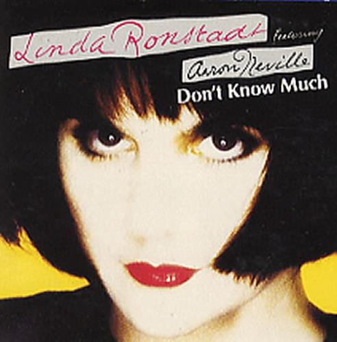 "Linda Ronstadt Don't Know Much 3"" CD single (CD3) UK LIRC3DO60032"