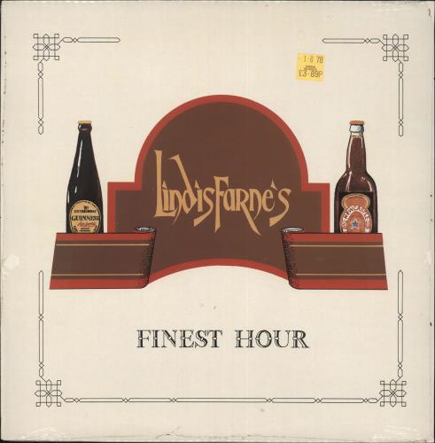 Lindisfarne Finest Hour - Sealed vinyl LP album (LP record) UK LSFLPFI724780