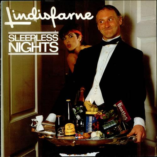 Lindisfarne Sleepless Nights vinyl LP album (LP record) UK LSFLPSL515712