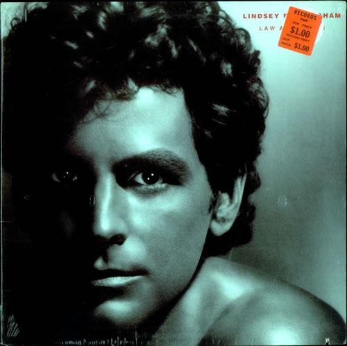 Lindsey Buckingham Law And Order - Sealed vinyl LP album (LP record) US LINLPLA306197