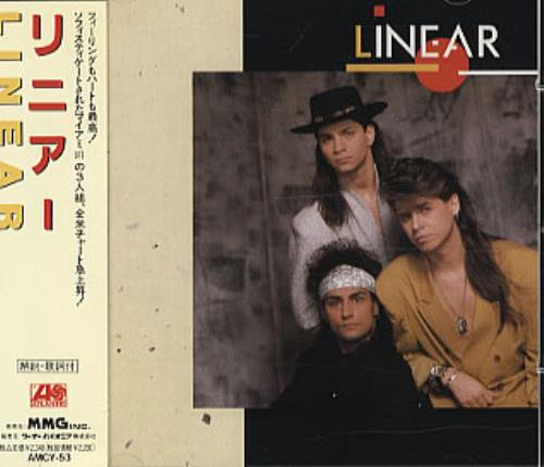 Linear (90s) Linear Japanese Promo CD album (CDLP) (315307)