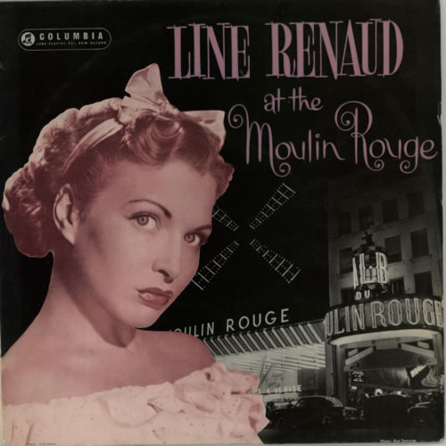 """Line Renaud At The Moulin Rouge - Factory Sample 10"""" vinyl single (10"""" record) UK LXN10AT600377"""
