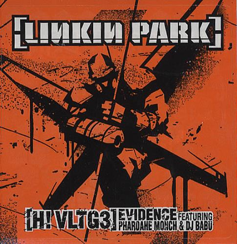 Linkin Park [H! Vltg3] Evidence US Promo CD single (CD5 / 5