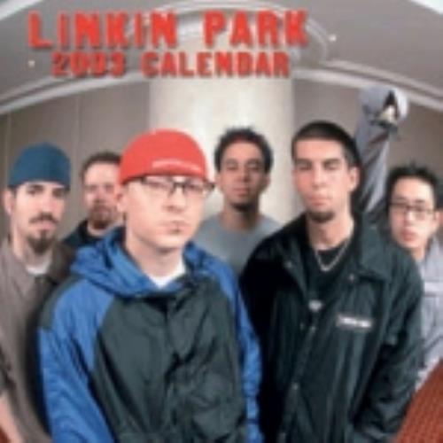 Linkin Park Calendar 2003 calendar UK LKPCACA225254