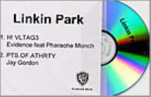 Linkin Park Hi Voltage/Points Of Authority CD-R acetate UK LKPCRHI219073