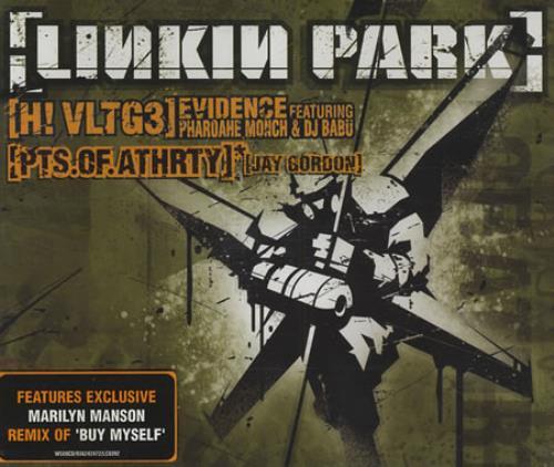 "Linkin Park High Voltage/Points Of Authority CD single (CD5 / 5"") UK LKPC5HI219068"