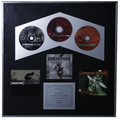 Linkin Park Meterora award disc UK LKPAWME521380