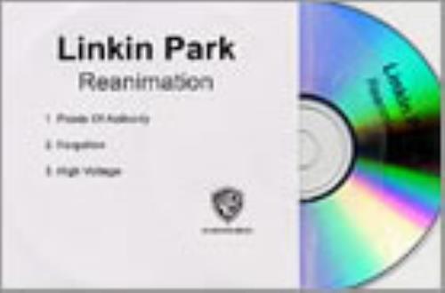 Linkin Park Reanimation - 3-track sampler CD-R acetate UK LKPCRRE219071