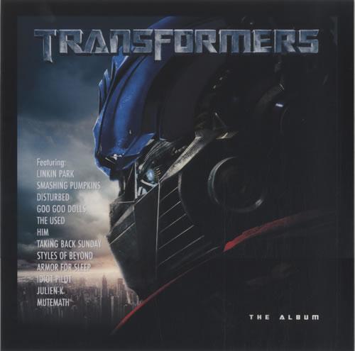 Linkin Park Transformers display US LKPDITR500047