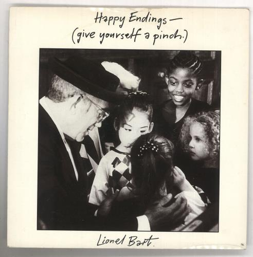 """Lionel Bart Happy Endings (Give Yourself A Pinch) 7"""" vinyl single (7 inch record) UK L/B07HA738701"""