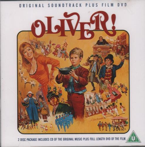 Lionel Bart Oliver! 2-disc CD/DVD set UK L/B2DOL663536