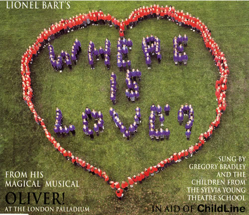 Lionel Bart Where Is Love? UK CD single (CD5 / 5