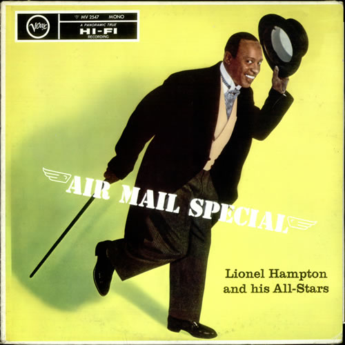 Lionel Hampton Air Mail Special vinyl LP album (LP record) Japanese LI0LPAI533553