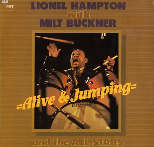 Lionel Hampton Alive & Jumping vinyl LP album (LP record) Dutch LI0LPAL559081