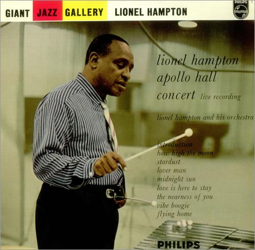 Lionel Hampton Apollo Hall Concert 1954 vinyl LP album (LP record) UK LI0LPAP363907