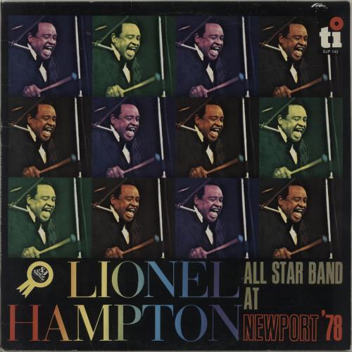 Lionel Hampton At Newport '78 vinyl LP album (LP record) US LI0LPAT492723