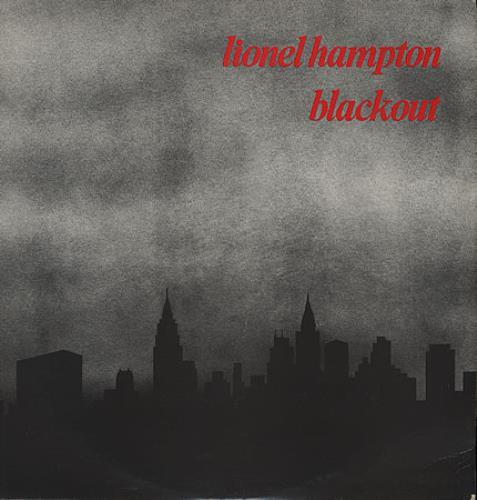 Lionel Hampton Blackout - First Issue vinyl LP album (LP record) UK LI0LPBL387798