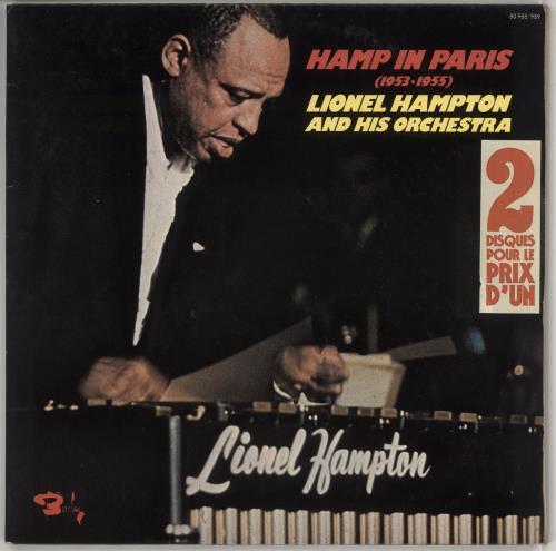 Lionel Hampton Hamp In Paris 2-LP vinyl record set (Double Album) French LI02LHA547146