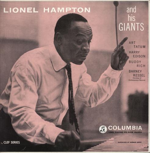 Lionel Hampton Lionel Hampton & His Giants vinyl LP album (LP record) UK LI0LPLI744874