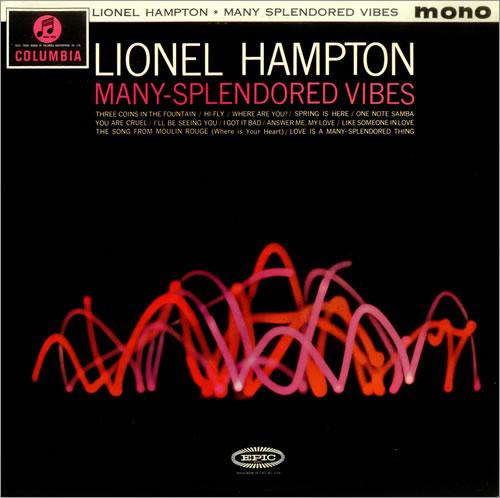 Lionel Hampton Many Splendored Vibes vinyl LP album (LP record) UK LI0LPMA455965