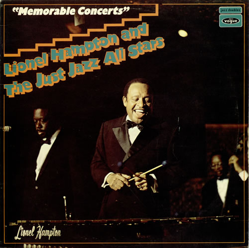Lionel Hampton Memorable Concerts vinyl LP album (LP record) UK LI0LPME470899