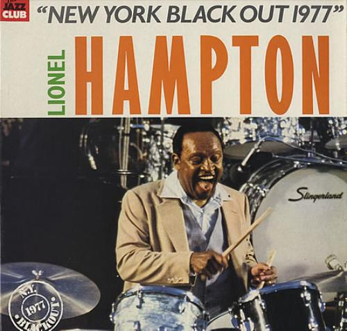 Lionel Hampton New York Black Out 1977 vinyl LP album (LP record) French LI0LPNE387796