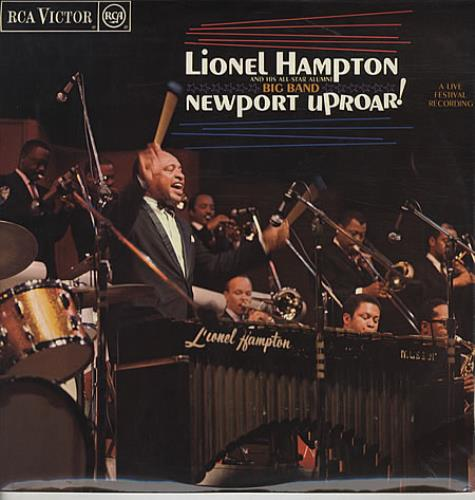 Lionel Hampton Newport Uproar! - Red Spot vinyl LP album (LP record) UK LI0LPNE534437