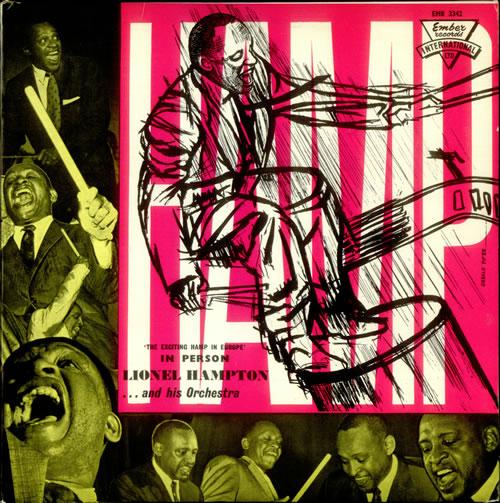 Lionel Hampton The Exciting Hamp In Europe - Original vinyl LP album (LP record) UK LI0LPTH535102