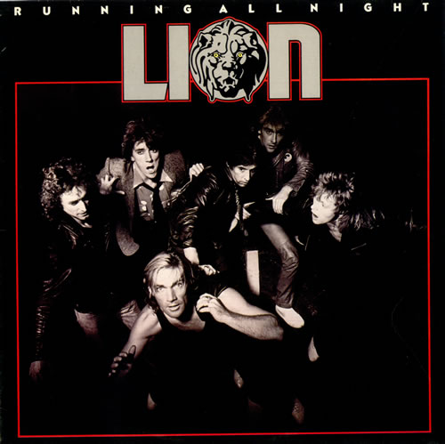 Lion Running All Night vinyl LP album (LP record) UK LYVLPRU516839