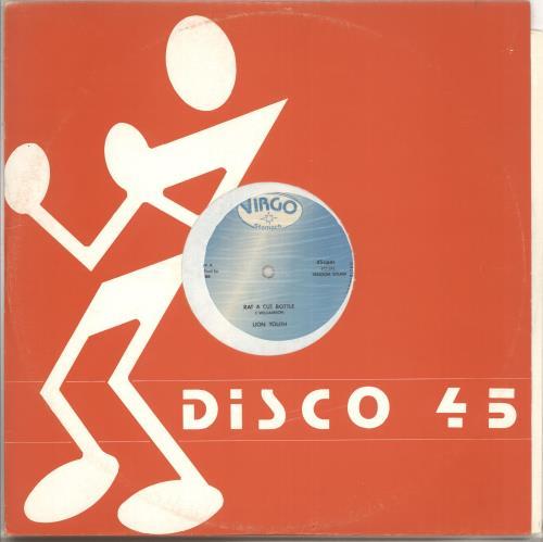 "Lion Youth Rat A Cut Bottle 12"" vinyl single (12 inch record / Maxi-single) UK Q-Y12RA710338"