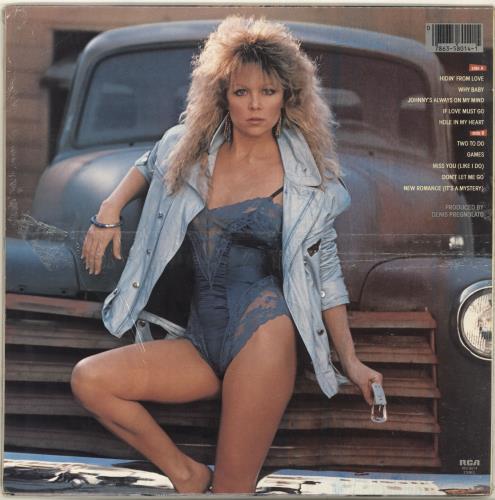 Lisa Hartman Letterock - stickered shrink vinyl LP album (LP record) US L02LPLE698752