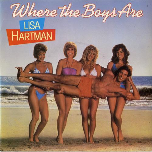 "Lisa Hartman Where The Boys Are 7"" vinyl single (7 inch record) UK L0207WH614586"