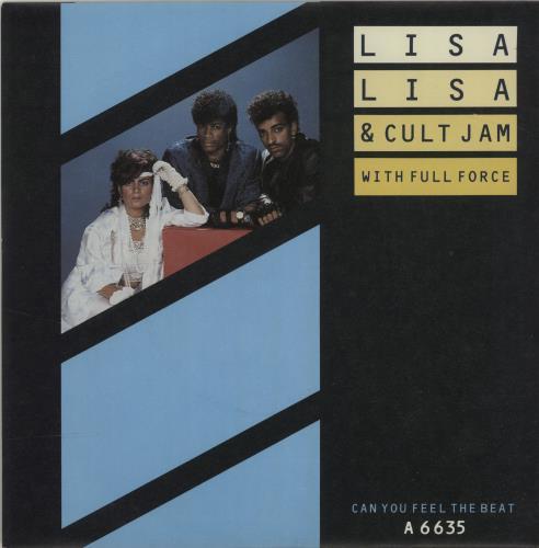 "Lisa Lisa & Cult Jam Can You Feel The Beat 7"" vinyl single (7 inch record) UK LLS07CA684266"