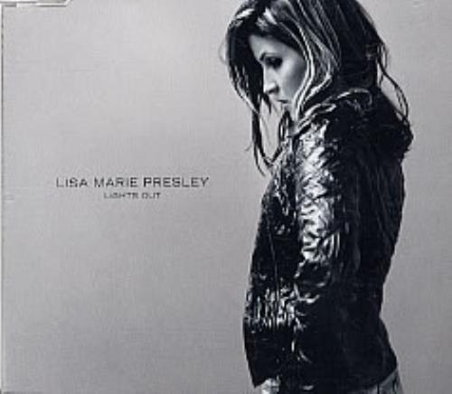 "Lisa Marie Presley Lights Out CD single (CD5 / 5"") UK L.MC5LI250556"