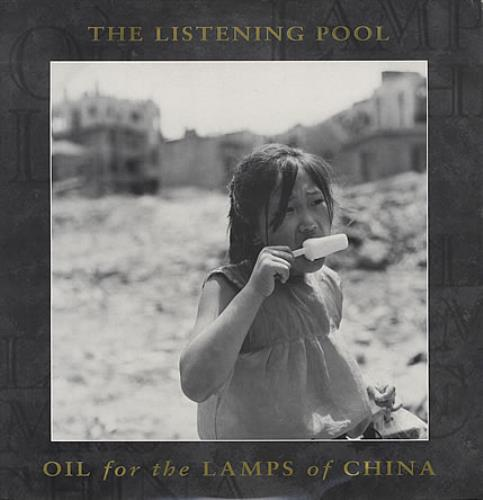"""Listening Pool Oil For The Lamps Of China 12"""" vinyl single (12 inch record / Maxi-single) UK LIS12OI124305"""
