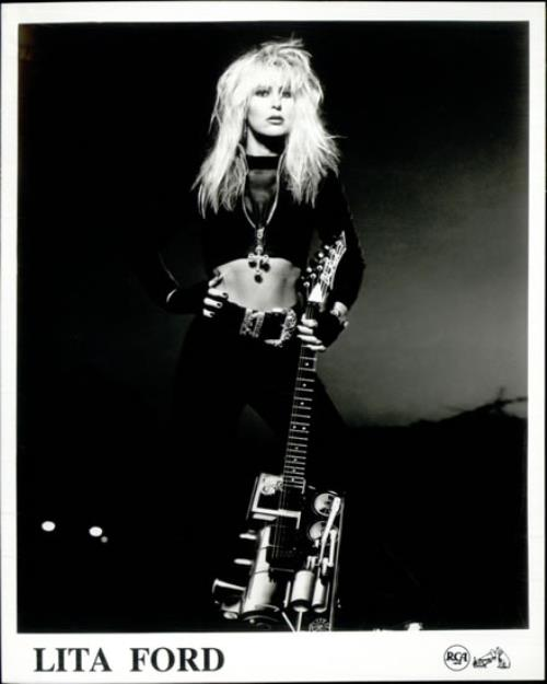 Lita Ford Dangerous Curves Us Promo Media Press Pack