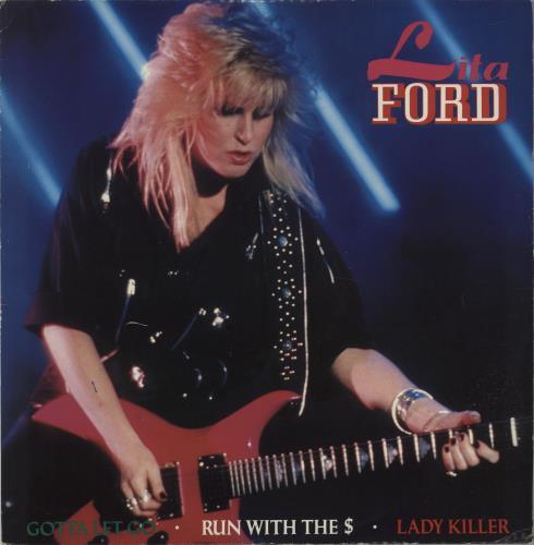 "Lita Ford Gotta Let Go - Autographed by Lita, Randy & Gordon 12"" vinyl single (12 inch record / Maxi-single) UK LTF12GO667056"