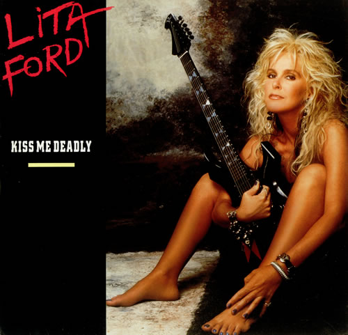 Lita Ford Kiss Me Deadly Poster Uk 12 Quot Vinyl Single 12