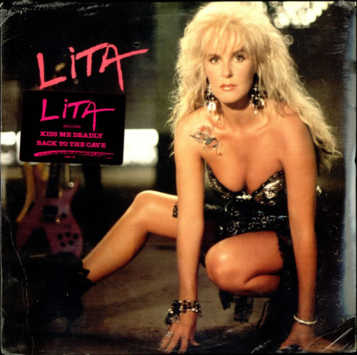 Lita Ford Lita Sealed Us Vinyl Lp Album Lp Record 503764