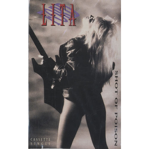 Lita Ford Shot Of Poison Sealed Us Cassette Single 476561