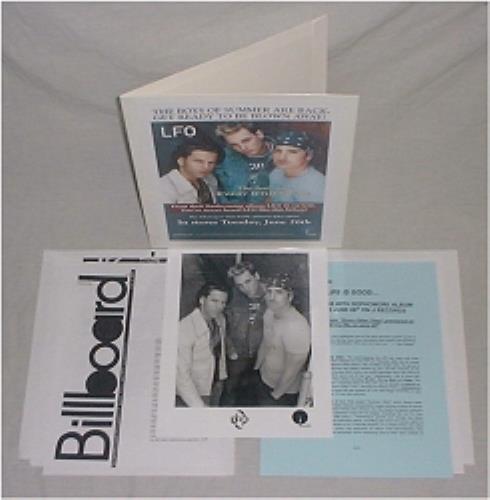 Lite Funky Ones/LFO Life Is Good media press pack US L-FPPLI191832